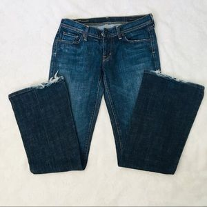EUC Citizens Of Humanity  Low waist flare Jeans